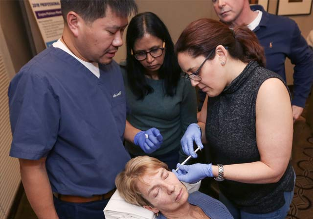 Dermal Filler Training Hands-on session